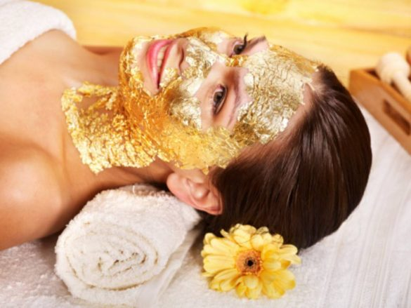 gold in cosmetics