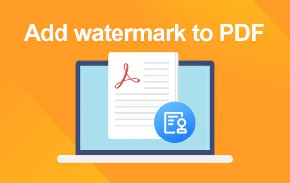 Watermark to PDF File